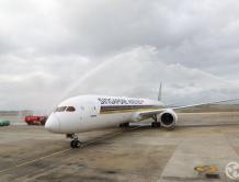 新航全新波音787-10梦想客机 1月1日飞台北-新加坡