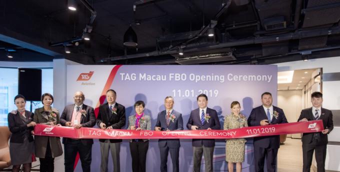 TAG航空开设澳门固定运营基地(FBO)拓展全球网络至亚太