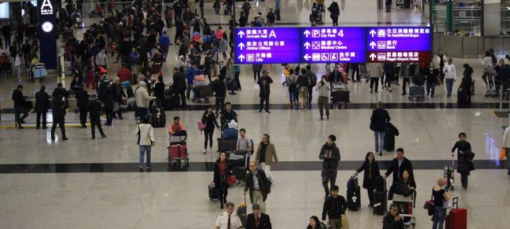 香港机场2018年吞吐量创纪录 客运7470万人次 货运510万吨