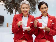 素颜空姐现身!英国维珍航空推改革 取消化妆裙装规定