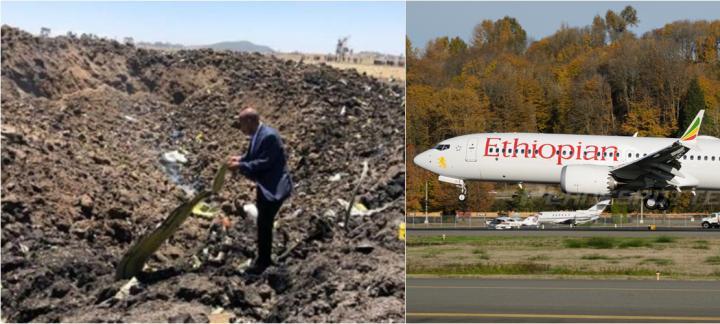 埃塞俄比亚一波音客机坠毁 机上157人全遇难 包括8名中国人