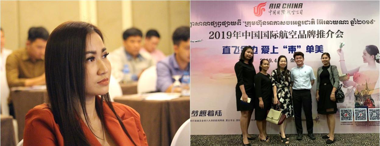 中国游客日益青睐柬埔寨 中国国际航空在柬举行品牌推介会