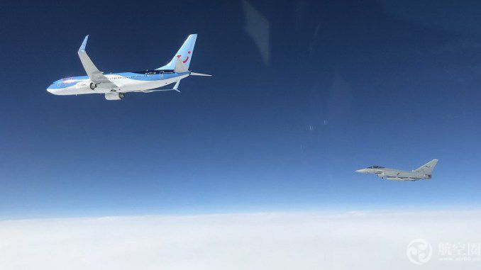 德国一波音737客机通讯中断 意大利战机紧急升空拦截