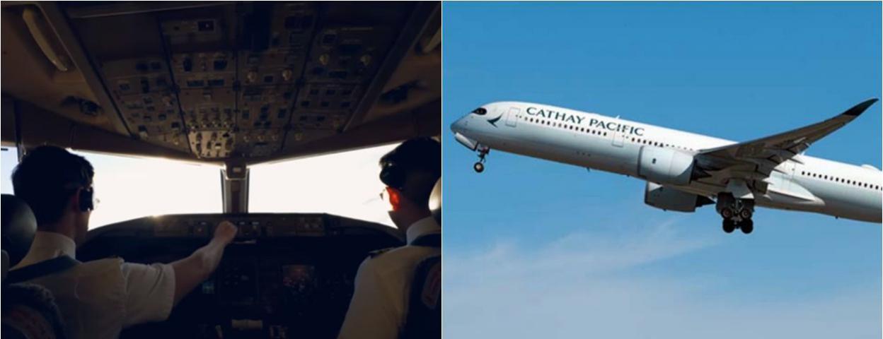 国泰航空2个月两名机长飞行中突然失明 副驾接管飞机