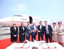 香港麗翔成中国最大环球6500环球7500公务机机队托管运营商