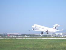 内蒙古首家本土航空天骄航空首航  全部用国产ARJ21飞机运营