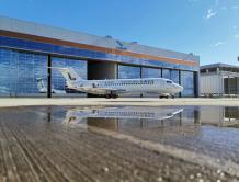 中国商飞向天骄航空交付第三架ARJ21飞机