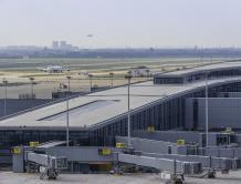 上海浦东机场三期扩建主体工程暨卫星厅启用