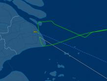 东航一国际航班夜间遭遇鸟击  起飞一小时后安全返回上海