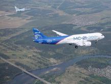 俄罗斯新型MC-21客机已完成首次非商业国际飞行