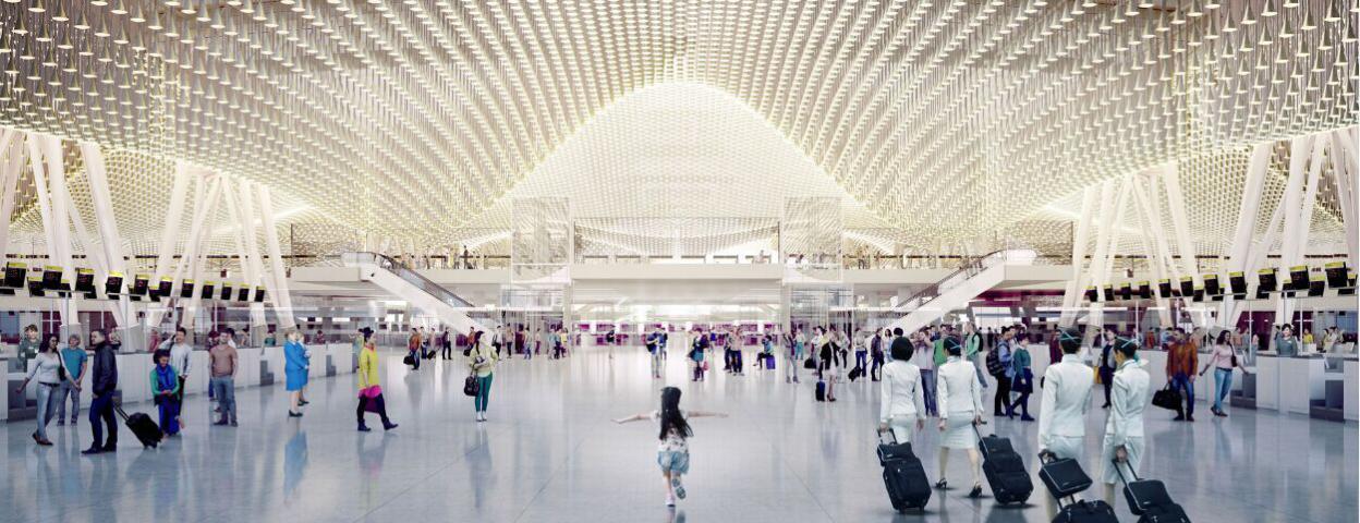 台湾最大机场T3航站楼设计太漂亮无人愿盖 将简化设计