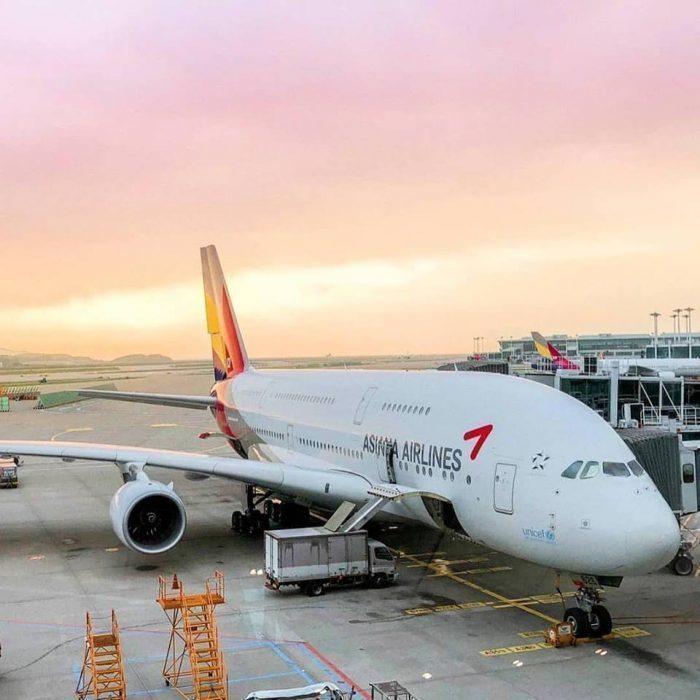 韩亚航空坠机视频_韩亚航空一架世界最大客机A380发动机在仁川机场着火 - 民航 ...
