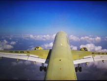 中国国产C919大型客机第五架机完成首次试验飞行