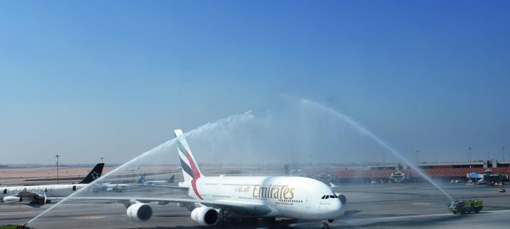 阿联酋航空全球航线网络再添全新A380目的地