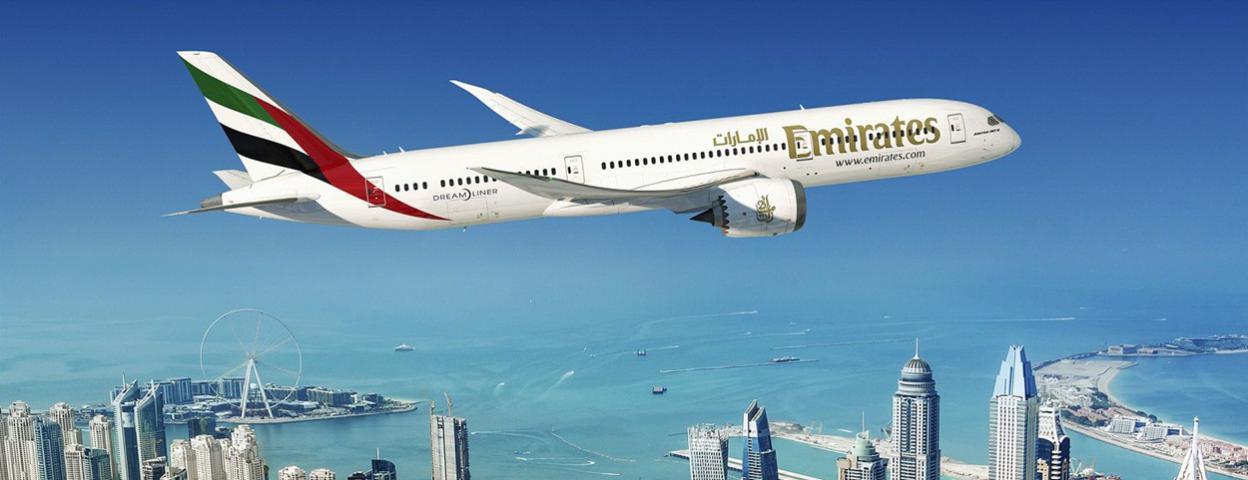 阿联酋航空迪拜航展88亿美元订购订购30架波音787-9