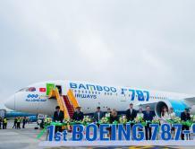 越竹航空接收第一架波音787-9 越南首家运营宽体机民营航空