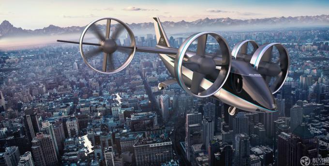 贝尔参加2020CES展示空中出租车最新型号贝尔Nexus 4EX