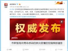 """新型冠状病毒肺炎疫情愈演愈烈 武汉""""封城"""" 外出通道关闭"""