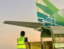 驰援中国武汉!柬埔寨澜湄航空承诺免费承运疫情防护物资