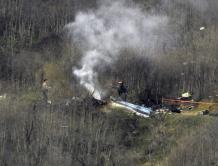 美国篮球巨星科比·布莱恩特和一名女儿在直升机事故遇难