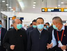 海南省常务副省长毛超峰到美兰机场、海南航空调研