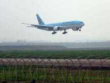 韩国至港台地区航线因新冠疫情影响停飞