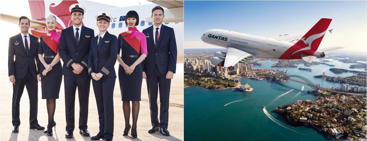 澳洲航空约50名员工确诊新冠肺炎 包括8名飞行员和19名空乘