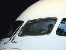 从中国起飞 美联航飞机太平洋上驾驶舱玻璃出裂纹急降日本