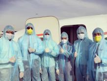 印度快运航空撤侨航班有9名机组人员感染新冠病毒