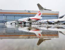 中国国产ARJ21飞机1天交付4架 首次交给中国三大航