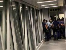 香港男子公然拿刀刺伤警察连夜成飞机逃跑 起飞前被拦截