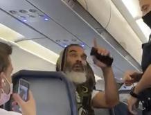 乘客登机后拒绝戴口罩被精神航空拒载 警察将其带下飞机