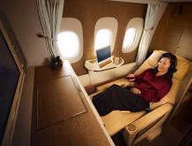 """猫途鹰""""旅行者之选"""" 阿联酋航空连续四年荣获最佳头等舱"""