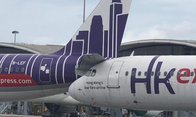 飞机也 追尾 香港快运航空2架飞机在机场相撞 航空要闻 航空圈 航空信息 大数据平台