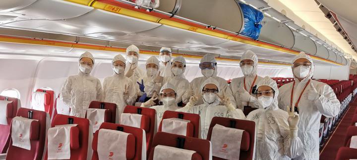 全力以赴  首都航空接滞留海外393名船员顺利回国