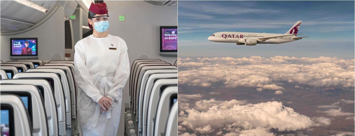 卡塔尔航空飞成都航班落地3天已有13人感染新冠病毒