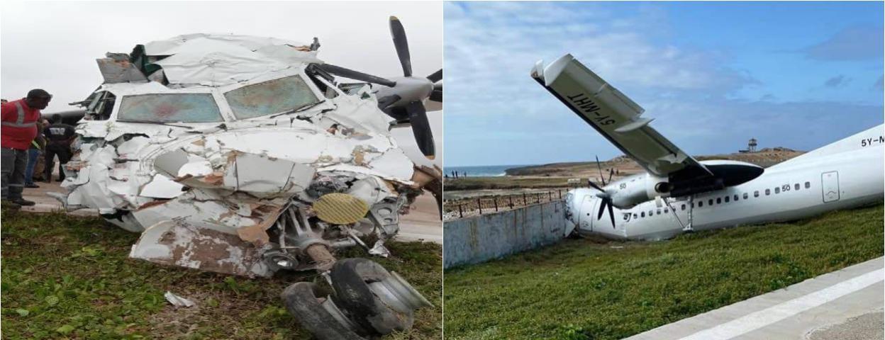 飞机撞墙面目全非! 半年时间肯尼亚3架飞机在索马里坠毁