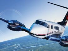 德事隆航空向中国企业交付比奇350i空中国王飞机