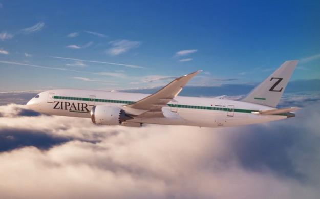 日本最新低成本航空ZIPAIR首航 290座位飞机仅有2名乘客