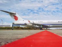 中国国际航空引进第二架国产ARJ21飞机