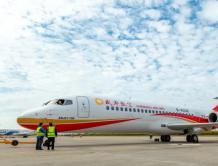 成都航空接收第23架中国国产ARJ21飞机