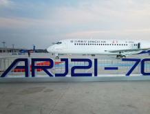 ARJ21首次在中国商飞江西生产试飞中心交付