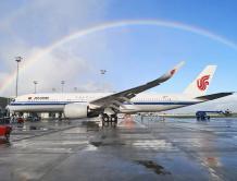 再迎两架空客A350 中国国际航空A350机队规模达12架
