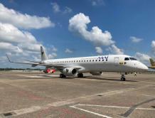巴航工业E190加入缅甸国际航空并投入商业运营