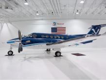 德事隆航空交付比奇350CER空中国王延程型特殊任务飞机