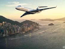 新年捷报  华龙航空迎来首架庞巴迪环球6500公务机