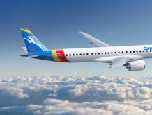 刚果航空增购两架巴航工业E195-E2飞机