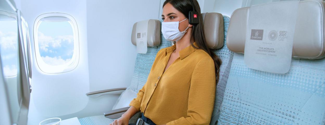 """阿联酋航空推出经济舱""""一人多座""""服务 提供更多个人空间"""
