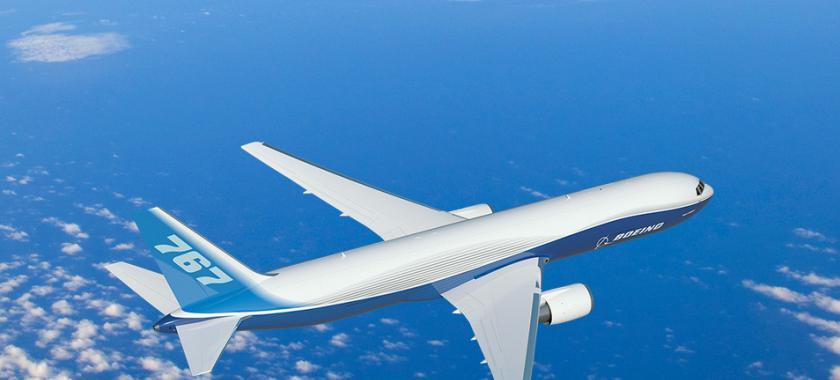 外媒:中原龙浩航空订购5架波音767-300F宽体货机