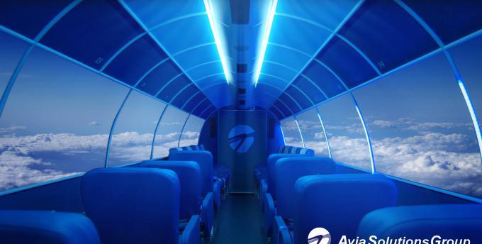 阿维亚集团董事长:无窗飞机是客机设计的未来吗?
